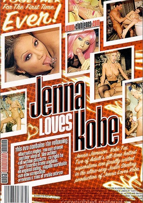 Back cover of Jenna Loves Kobe