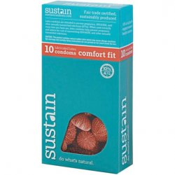 Sustain Comfort Fit Condom - 10 Pack Sex Toy