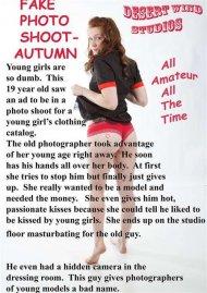 Fake Photo Shoot - Autumn Porn Video