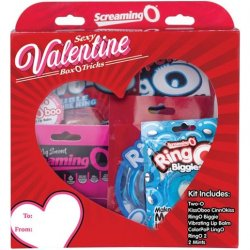 Screaming O - Sexy Valentines Box O Tricks sex toy from The Screaming O.