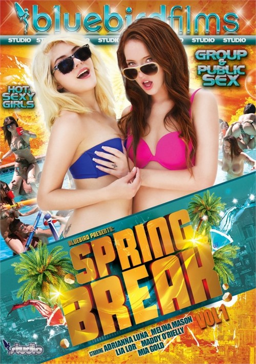 Spring Break porn video from Bluebird Films.