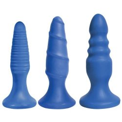 Curve Novelties Simply Sweet Anal Fun Trio - Bangin Blue Sex Toy