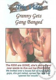 Granny Gets Gang Banged Porn Video
