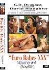 Euro Babes XXX Volume #4 Boxcover
