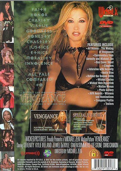 Back cover of Vengeance