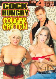 Cock Hungry Cougar Carton 4-Pack Porn Movie