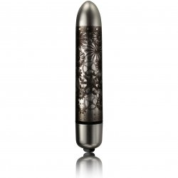 Rocks Off Dr. Rocco X3 RO-90 Night Wish Bullet - Brushed Silver Sex Toy