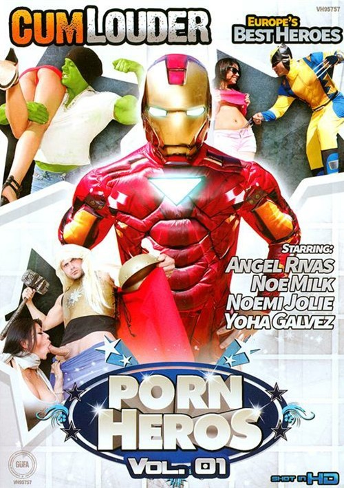 Porn Heros Vol. 1 top porn picks from Cum Louder.