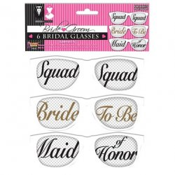 Bridal Party Mesh Glasses - Set of 6 pairs Sex Toy
