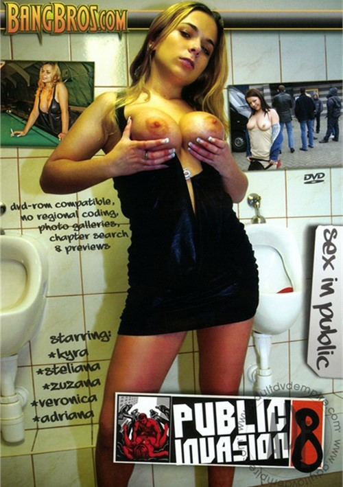 Public invasion slut, old shemale and girl
