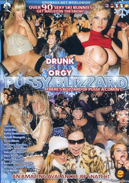 drunk pussy orgy - Drunk Sex Orgy: Pussy Blizzard