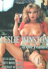 Leslie Winston Triple Feature Porn Video